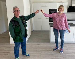 Schlüsselübergabe für Wohnpflegegemeinschaft